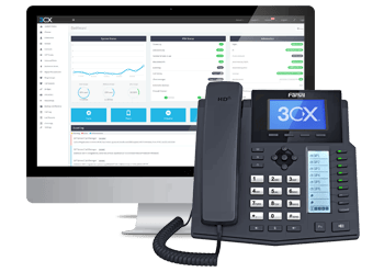 3CX Phone interface