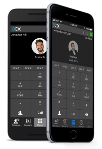 3CX Mobile Interface
